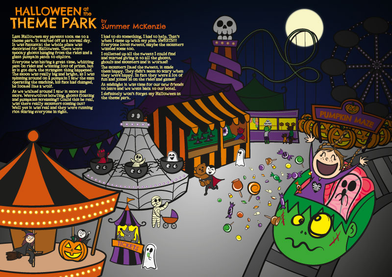 Halloween-Theme-Park-Spooky-Stories-Competition